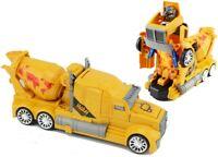 Kinder Spielzeug LKW Baustellenfahrzeuge mit Licht und Sound Zementmischer