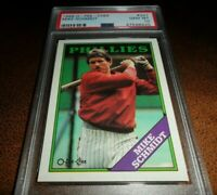 1988 OPC by Topps #321 Mike Schmidt PHILADELPHIA Phillies HOF PSA 10 GEM MINT