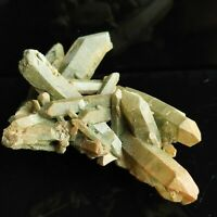 Natural Clear Quartz Cluster, Chlorite Quartz Cluster, Home Decor, US SELLER