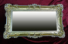 Vintage frame for picture photo portrait 96x57 frame in gold silver new