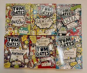 Tom Gates - Selection of 6 Books - GC