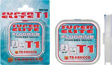 Filo da pesca - TRABUCCO SUPER ELITE T1 FLUORINE - 0,16