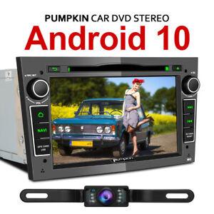"""Pumpkin 7""""Android 10.0 Car Radio Sat Nav DVD BT Wifi For OPEL Corsa Astra+Camera"""
