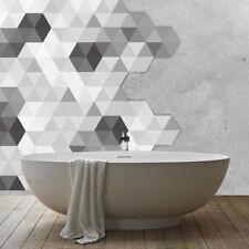 10pcs Self-Adhesive Mosaic Bathroom Waterproof PVC Wall Tiles Stickers Decal DIY