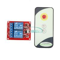 Two Channel 2CH 12V IR Infrared Remote Controll Switch Relay Module Board MF