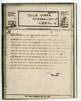 AIRGRAPH 1943.9.16 40mils Civilian type from Tel Aviv to M. Serebriany Glasgow