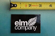 ELM Elm Company Headwear Hats Beanies Skate Z17 Vintage Skateboarding STICKER