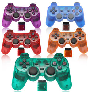 Dual Vibration PS2 Wireless 2.4GHz RF Gamepad Game Controller  For PlayStation 2