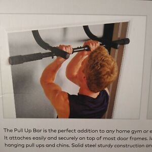 Champion Pull Up Chin Up Bar Attach & Removes Quickly From Door  Strengthen Uppe