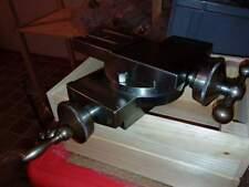 Schaublin 102 tornio svizzero bella tavola a croce