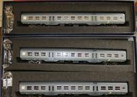 VITRAINS SAL1115 + SAL3191 Ferrotramviaria set 3 MDVC bigrigie fasce gialle