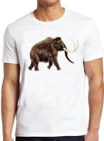 Big Woolly Mammoth T Shirt Elephant Dinosaur Cute Animal Park Cool Gift Tee 126