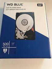 WD blue 2,5 Zoll 500GB Festplatte