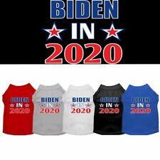Biden in 2020 Screen Print Dog Cat Pet Puppy Shirt