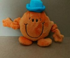 Mr Men Persil Mr Tickle Orange Soft Plush Toy Stretchy Vibrating Arms