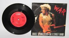 "Bruce Springsteen & The E Street Band - War - Vinyl 7"" Single - CBS - 1986"