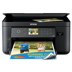 Epson Expression Home XP-5100 Wireless All-In-One Printer - Black