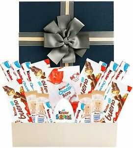 Kinder Bueno, Happy Hippo, Choco-Bons and Kinder Egg Chocolate Hamper - Gift Box
