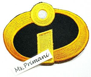 THE INCREDIBLES MOVIE PATCH LOGO DISNEY Patch Embroidered Iron/Sew On badge