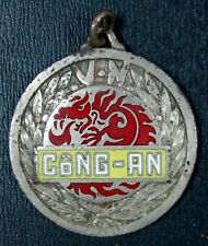 Indochina CÔNG AN Vietnam Police. Inspector Badge for Local Staff Numérotée 0780