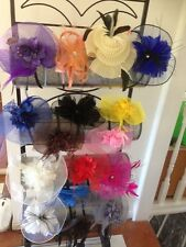 Clearance Free Shipping Bulk Wholesale Melbourne cup Fascinator hat 50PCS $250