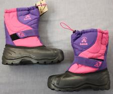 KAMIK Girls Pink & Purple Warm Winter Boots -10 degree Comfort Rating NWT Size 5