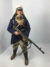 1/6 DRAGON WW1 FRENCH FOREIGN LEGIONNAIRE CHAUCHAT LMG GUNNER SIDESHOW BBI DID