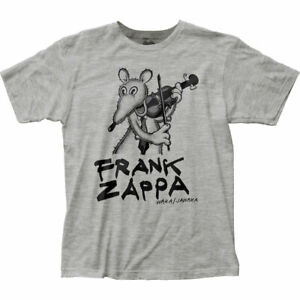 Frank Zappa Waka Jawaka T Shirt Mens Licensed Rock N Roll Music Retro Band Grey