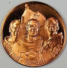Apollo XII Bronze Medal Return To The Moon Conrad Gordon Bean 1969