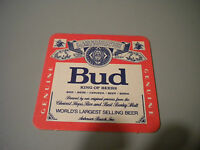 """Coaster Beer """" Bud """" Years 90 Doesn'T Common"""