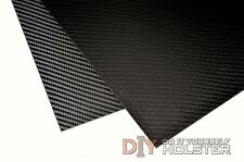 """Carbon Fiber Pattern Thermoform Sheet - Two 8""""x12"""" .080"""" Thick Sheets"""