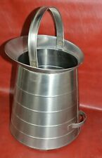 Admiral Craft Stainless Steel Milk Pail 5 Gallon Bucket Handle Commercial 15