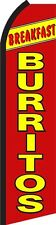 Breakfast Burrito Standard Size Polyester Swooper Flag  Sign Banner