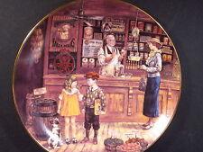 1994 Bradford Bygone Days SAM'S GROCERY STORE  Ltd Ed Plate