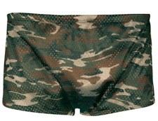 TYR Men's 40 XXL 2XL Camouflage Camo Green Poly Mesh Trainer Swim Suit USA Made