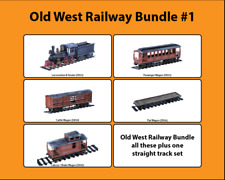 Old West Cowboy Railway Bundle #1