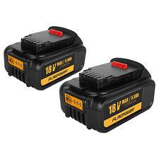 2Pack 5.0AH 18V XR Li-ion Battery for Dewalt DCD785 DCB182 DCB180 DCF885 DCB200