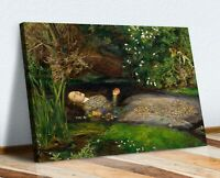 CANVAS WALL ART PRINT ARTWORK PAINTING FRAMED John Everett Millais Ophelia