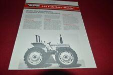 White 2-62 Field Boss Mudder Tractor Dealer's Brochure TBPA