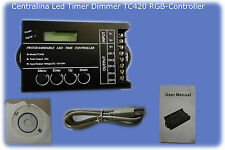 Centralina Led Timer Dimmer TC420 RGB-Controller DC12V-20A-5Channel-Programmable