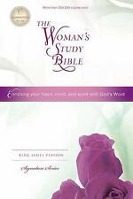 The Woman's Study Bible, KJV by Thomas Nelson Publishing Staff (2012, Hardcover)