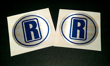 RELIANT mk2 Robin wheel centre decal / stickers (x2)Remanufactured