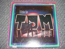 TOM JONES - THIS IS TOM JONES -  ON PARROT LONDON  NO BCODE - LP - VG+ NM
