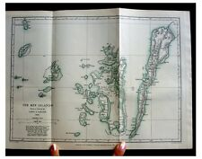 1888 Maluku - KAI ISLANDS - SHOCKING CUSTOM - Color Map - 12