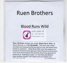 (EC250) Ruen Brothers, Blood Runs Wild - DJ CD