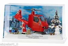 Busch 7635, Kleindiorama: Merry Christmas XVI »Alles Paletti«, H0 Modell 1:87