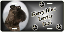 Kerry Blue Terrier Taxi Line License Plate (Special Low Clearance Price )