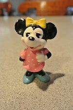 Vintage Minnie Mouse Ceramic Figurine