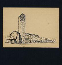 STUTTGART-MÖHRINGEN Katholische Hedwigs-Kirche / Architekt O Müller * AK um 1952