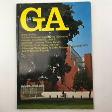 GA Global Architecture #9 Book James Stirling Leicester Cambridge University HB